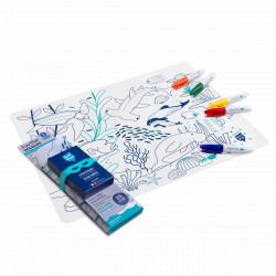 Set à colorier Barrière de corail