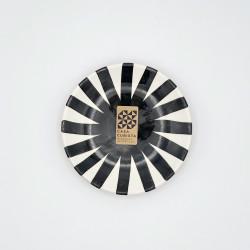 Mini assiette Ø12cm ray noir Casa Cubista