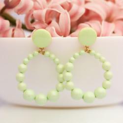 Boucles d'oreilles Suzy Vertes