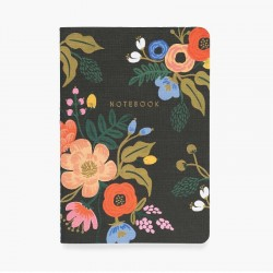 3 Notebooks Lively Floral