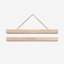 Cadre magnétique en bois grand format