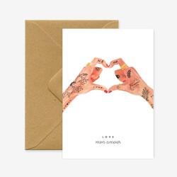 Carte Love Mon Amour