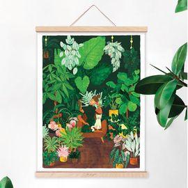 #PLANTADDICT À défaut d'avoir la main verte, vous pouvez toujours mettre un peu de verdure sur vos murs 🌿 Retrouvez nos jolies illustrations @allthewaystosay en boutique et en ligne 💚 — #ete85 #conceptstore #conceptstoreparis #paris #paris3 #vertbois #marais #decolovers #decoaddict #decorationinterieur #illustrations #madeinfrance #plants #plantes #plantlover #verdure